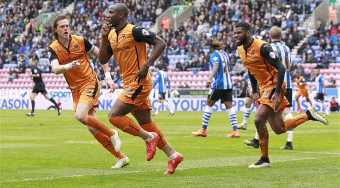 Wolves star striker Benik Afobe