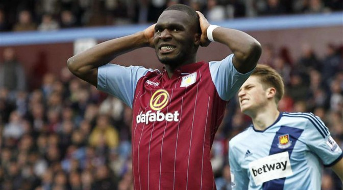Ex-Aston Villa striker Christian Benteke