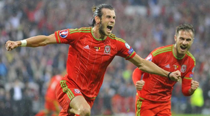 Wales and Real Madrid star Gareth Bale