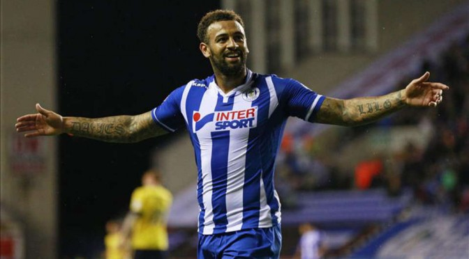 Wigan Athletic striker Craig Davies will be hoping to score again this weekend