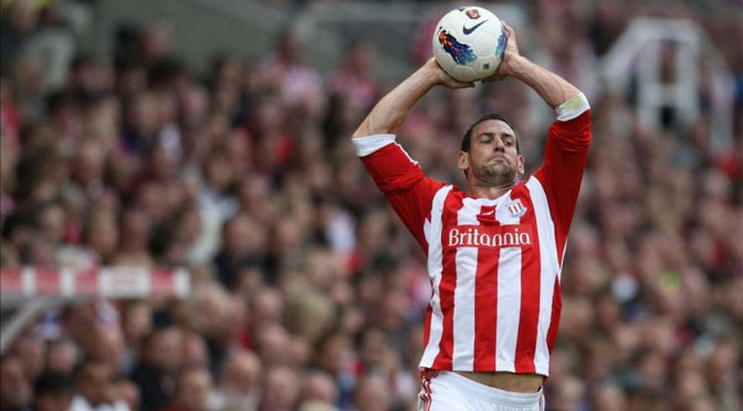 Long throw specialist Rory Delap