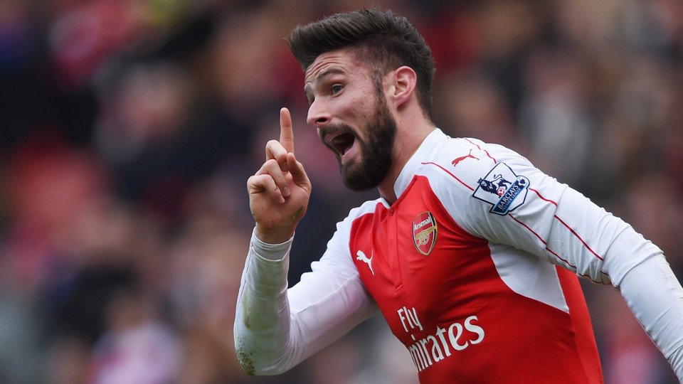 Assessing Arsenal's Olivier Giroud in 2016 - Is he wasteful or unlucky ...