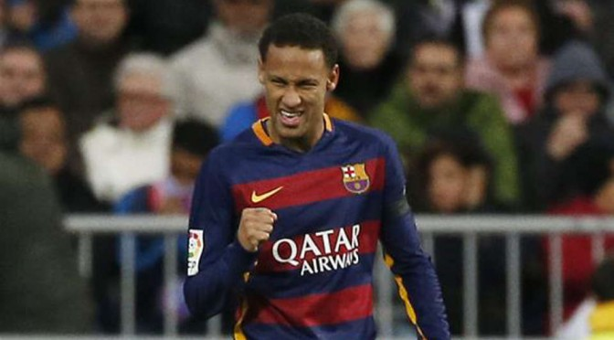 Barcelona and Brazil attacker Neymar