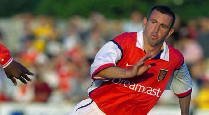 Ex-Arsenal left back Nigel Winterburn