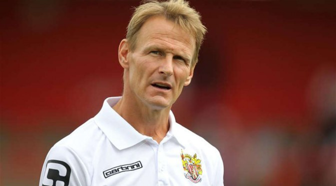 Ex-Stevenage manager Teddy Sheringham