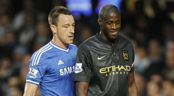 John Terry and Yaya Toure