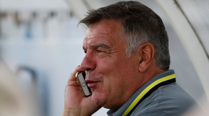He'll Be Disappointed With That: Allardyce receives praise
