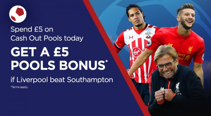 £5 Bonus if Liverpool Win