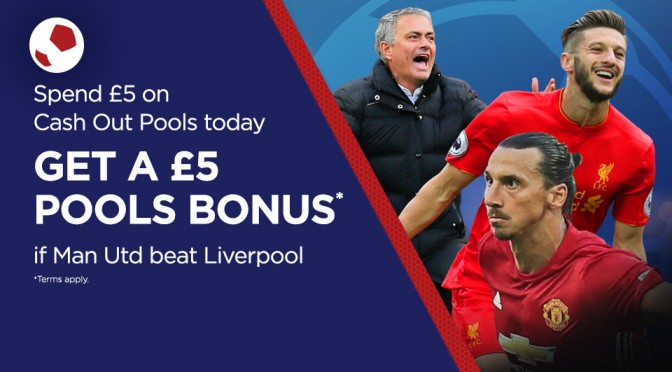 £5 Bonus if Man Utd Win