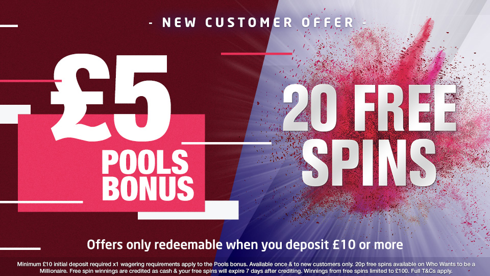 Football Pools | Customer Welcome Offer